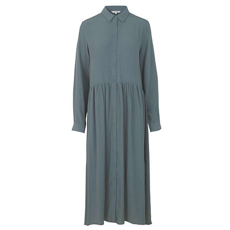 Image of   Dark Slate Ellia Dress, Malinas 45316687 fra Mbym