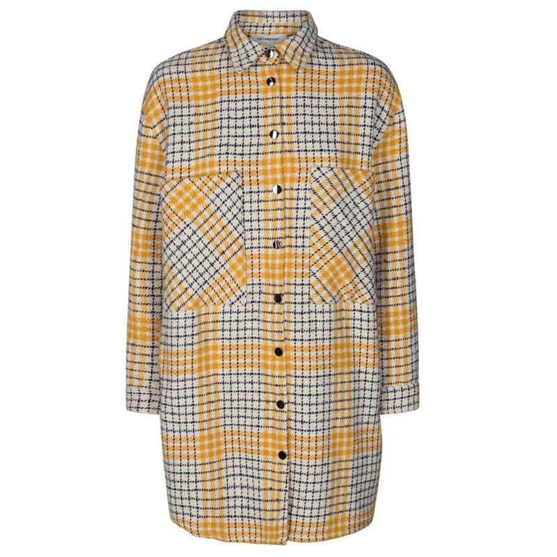 Image of   Off White Novera Check Shirt Jacket 90015 fra CoCouture