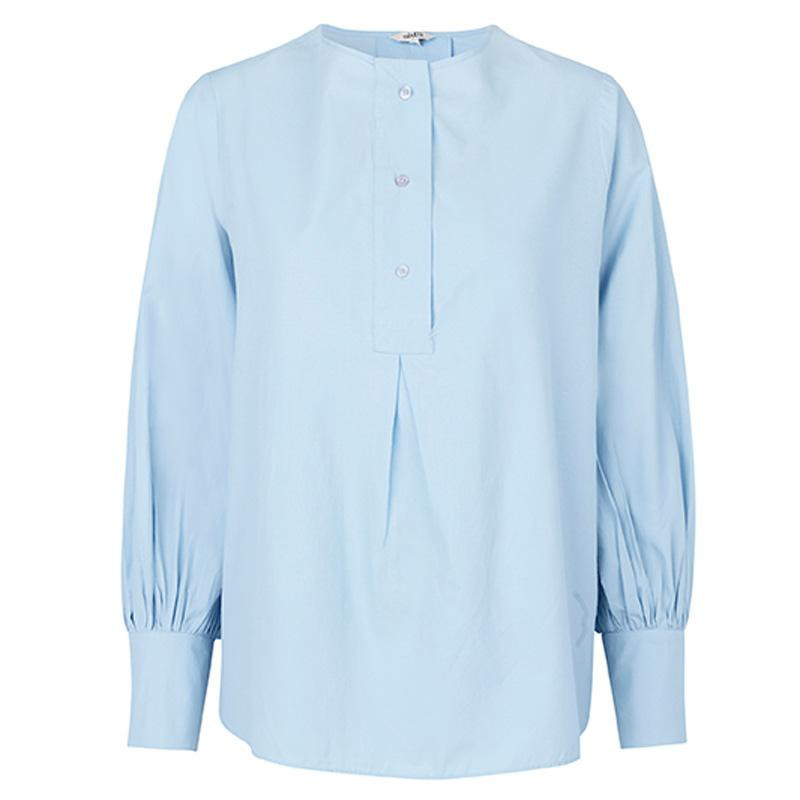 Image of   Chambray Blue Micca Top 43587357 fra mbyM