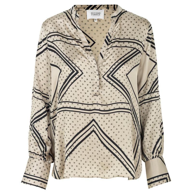Image of   Abbey Stone Isa LS Blouse 53276 fra Second Female