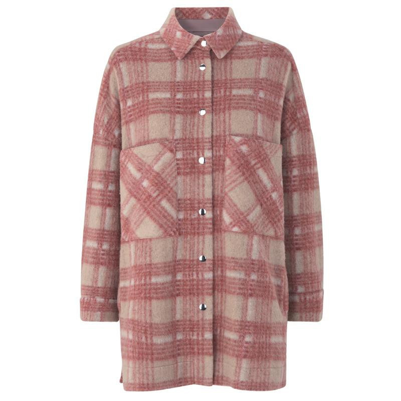 Image of   Mineral Red Aron Shirt Jacket 53036 fra Second Female