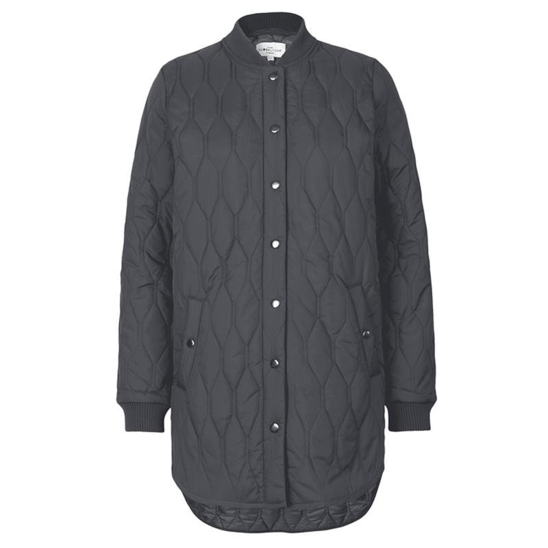 Image of   Arsenic Grey Quilted jacket Even 15018361 fra Global Funk