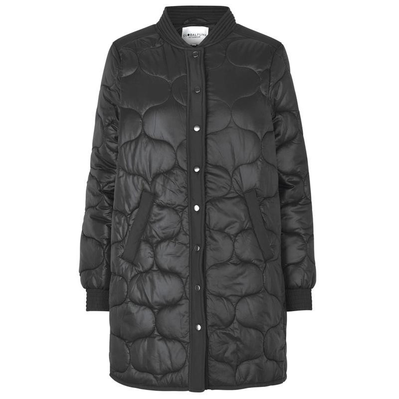 Image of   Black A quilted jacket Kacia 46158563 fra Global Funk