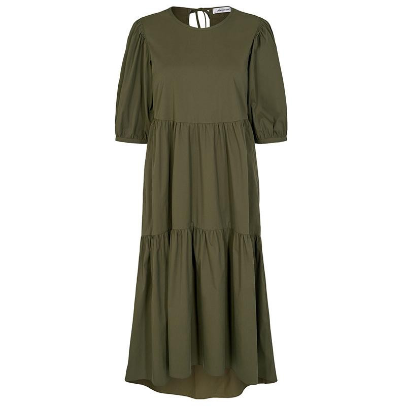 Image of   Army Cecilie Poplin Dress 96194 fra Co'Couture