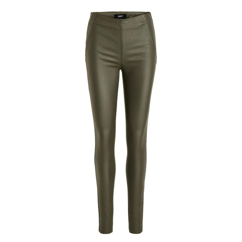 Image of Forest Night OBJBELLE MW COATED LEGGINGS NOOS 23029748 fra OBJECT (121001-630)
