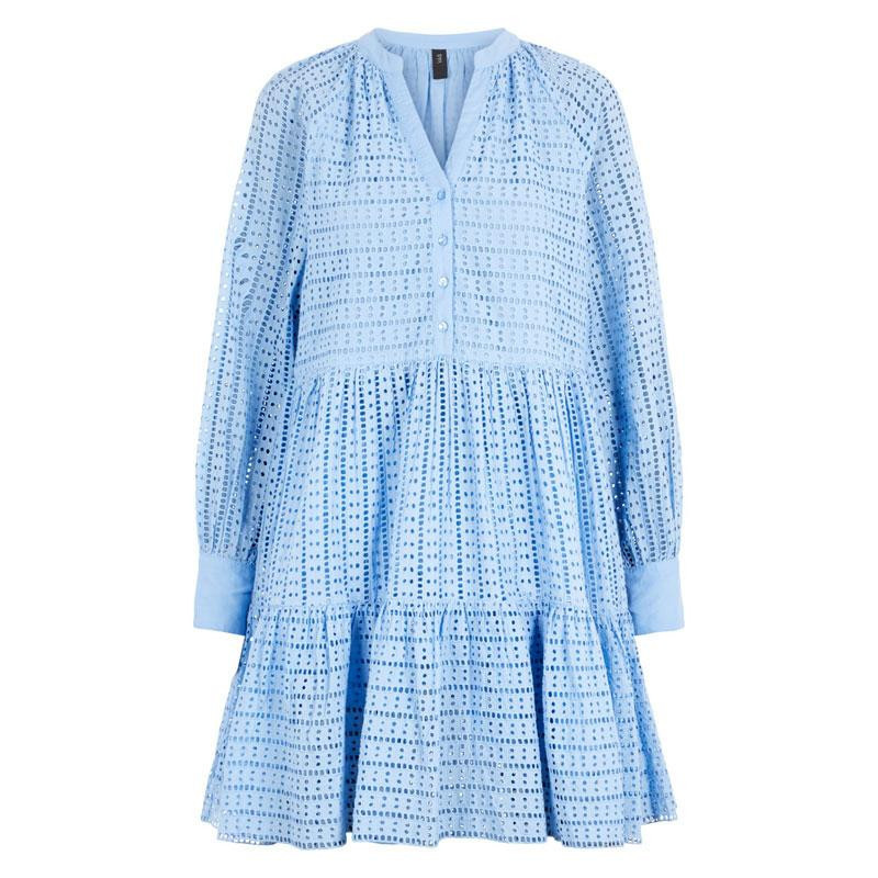 Image of   Bel Air Blue YASSIA LS DRESS S. 26018576 fra YAS