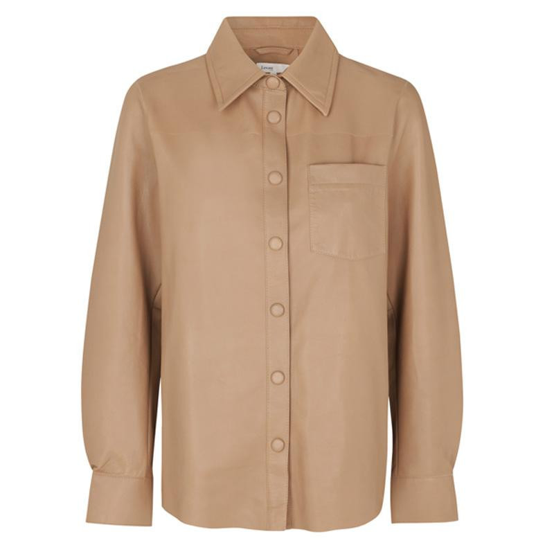 Image of   CARAMEL NUT LR-GLOBA SHIRT 100282 fra Levete Room