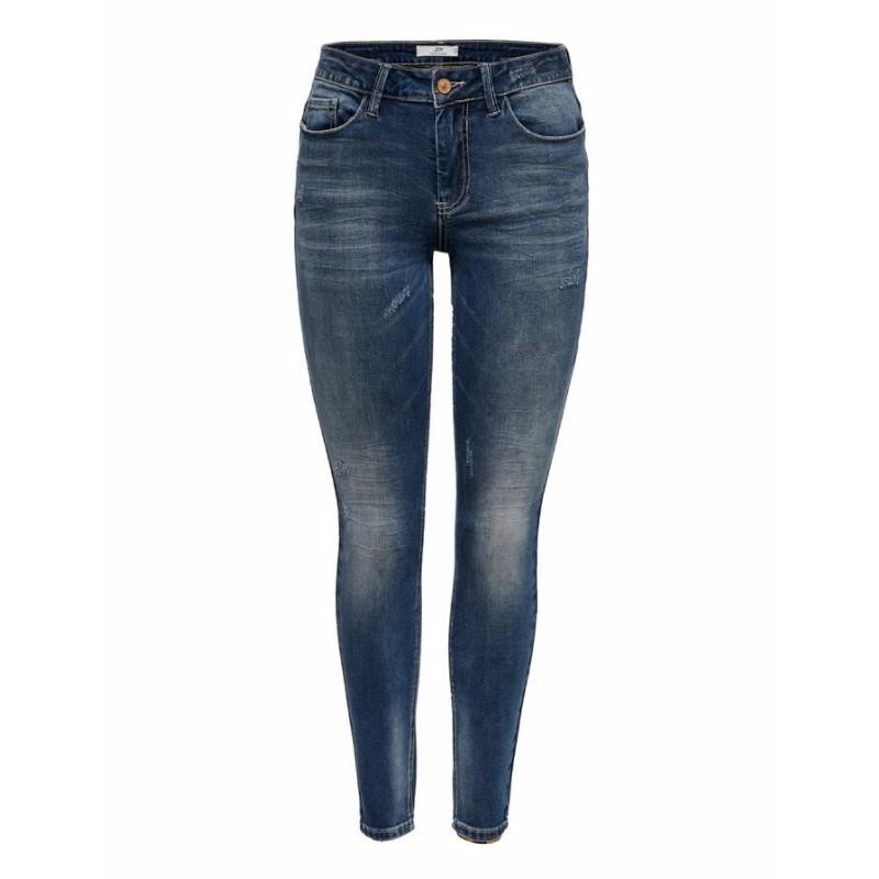 Image of Medium Blue Denim JDYCAROLA LIFE RG SKN SUPSTR MB DNM NOOS 15182653 fra JDY (111201-501)