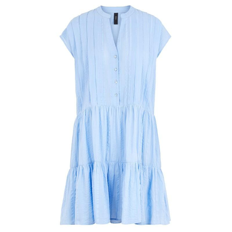 Image of   Bel Air Blue YASCUCIA SS DRESS - ICON S. 26017664 fra YAS