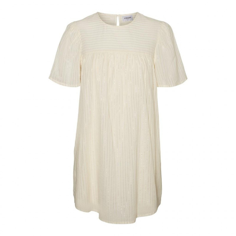 Image of   Birch GOLD LUREX VMKORONI 2/4 O-NECK TUNIC 10231134 fra Vero Moda
