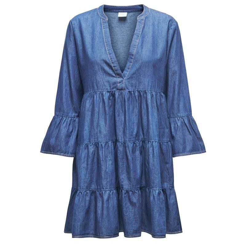 Image of Medium Blue Denim JDYSAINT LIFE 7/8 DRESS 15209302 fra JDY (112201-114)