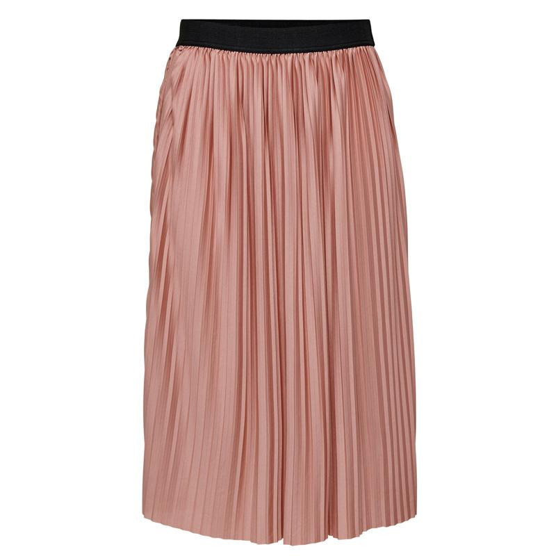 Image of Old Rose BLACK ELASTIC BAND JDYBOA SKIRT JRS RPT 15206814 fra JDY (112401-I007)