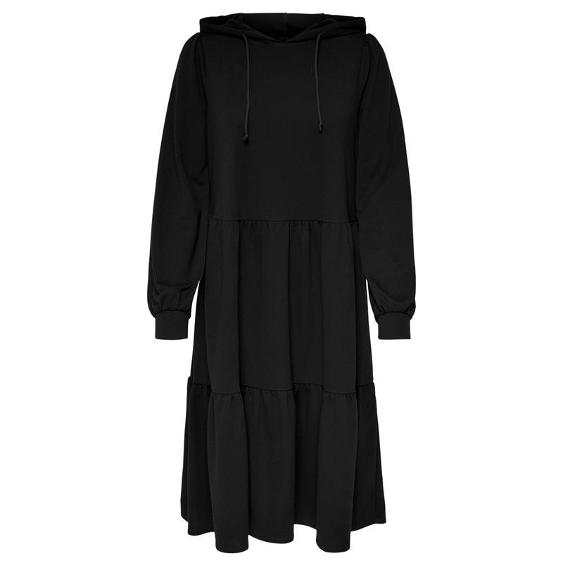 Image of Black JDYMARY L/S SWEAT DRESS 15220070 fra JDY (112501-J035)