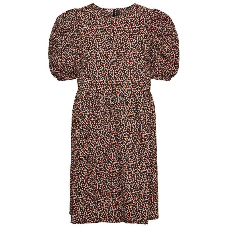 Image of Black SMALL FLOWER VMFLORA DRESS 10246974 fra Vero Moda (143101-155)