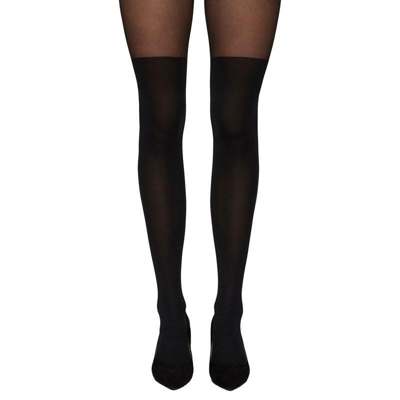Image of Black VMGLADYS TIGHTS NOOS 10186861 fra Vero Moda (143101-529)