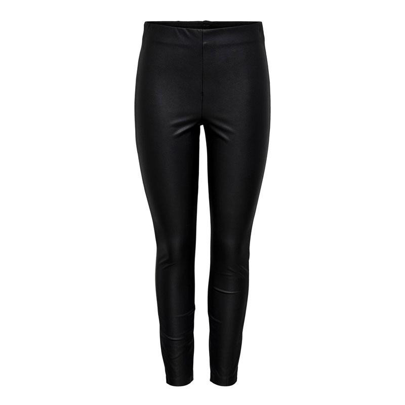 Image of Black ONLRACHEL FAUX LEATHER LEGGING CC OTW 15205629 fra Only (073201-848)