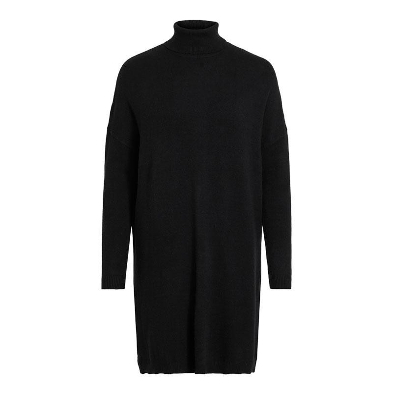 Image of Black VIRIL ROLLNECK L/S KNIT TUNIC - NOOS 14060173 fra Vila (193801-X031)