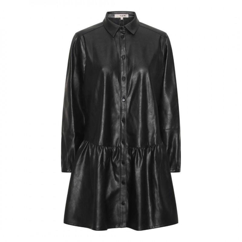 Image of Black Iris shirt dress AV1509 fra A-View (024001-T014)