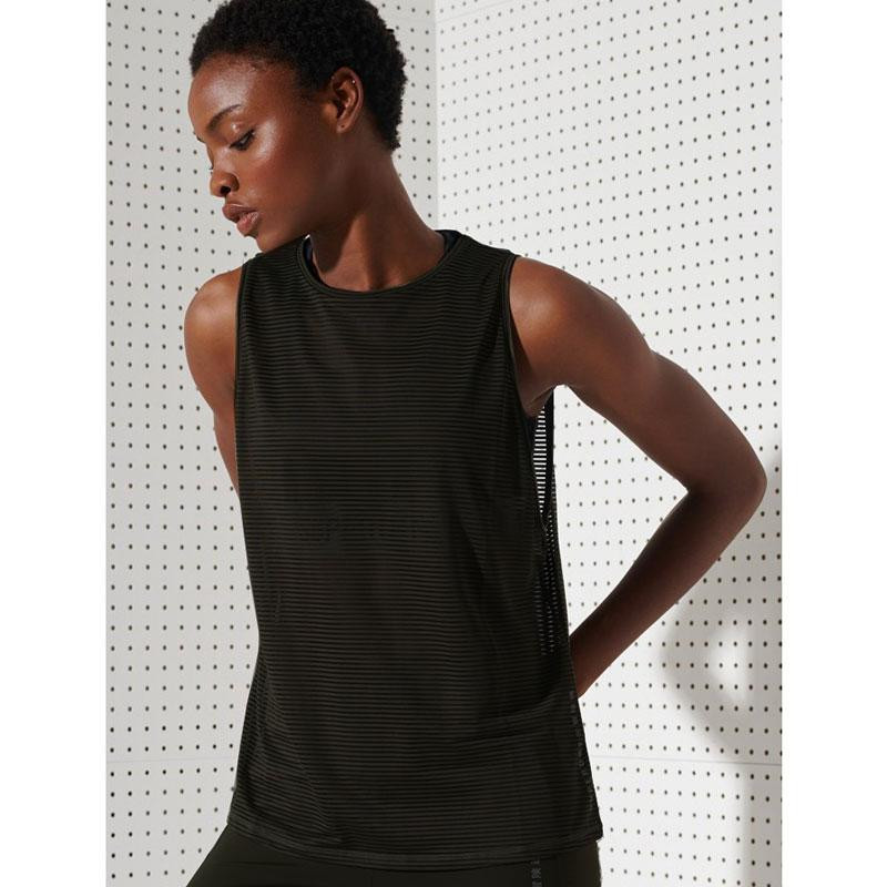 Image of Black TRAINING MESH TANK WS310211A fra Superdry (974101-459)