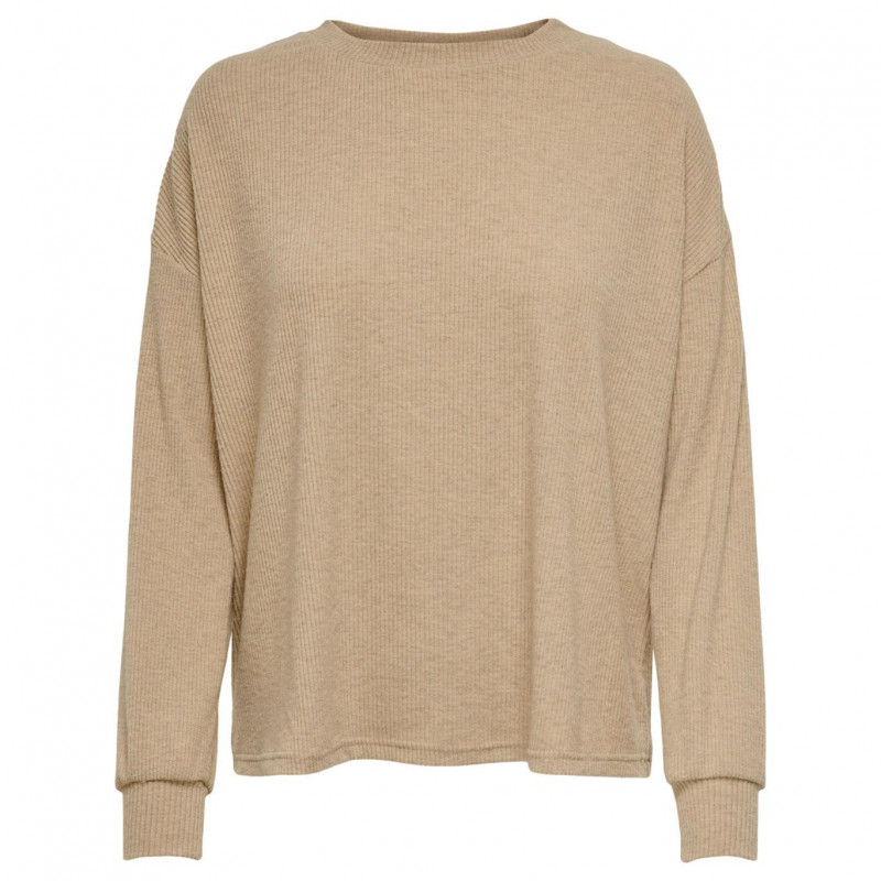Image of Beige ONLZOE L/S TOP 15227769 fra Only (074101-502)