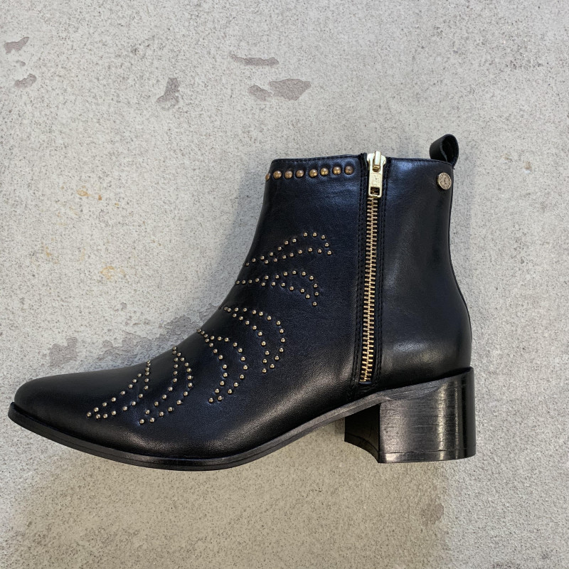 Image of Black RACHEL Leather Boot CS1996 fra Copenhagen sko (054101-T001)