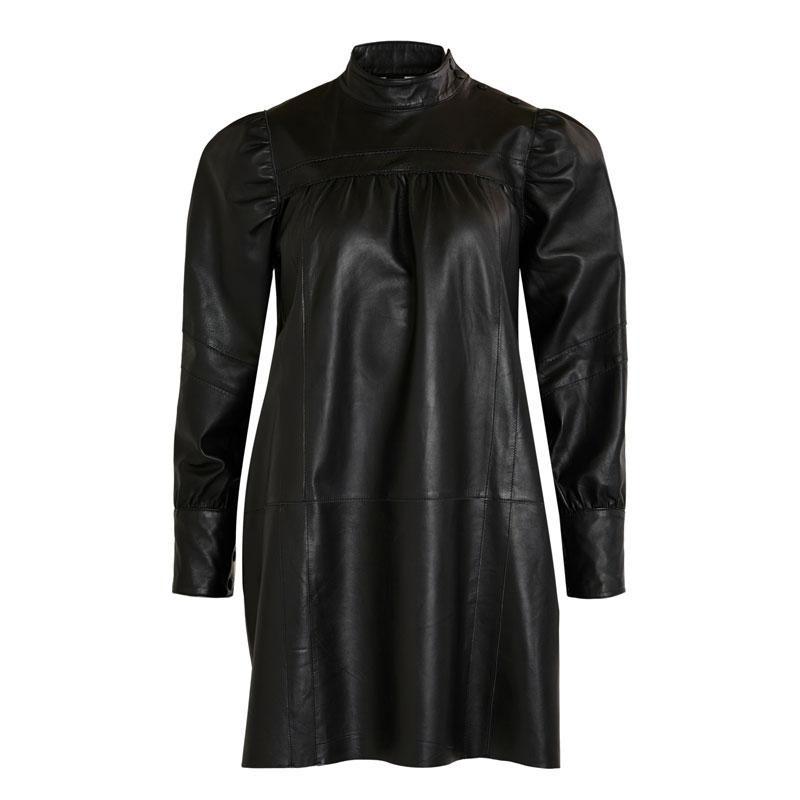 Image of Black OBJCHRIS DRESS 23033928 fra Object (124201-S030)