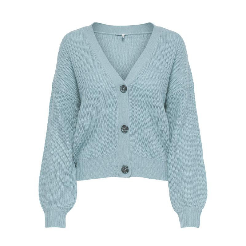 Image of Blue Fog ONLNANNA L/S BUTTON CARDIGAN 15227284 fra Only (074201-A013)