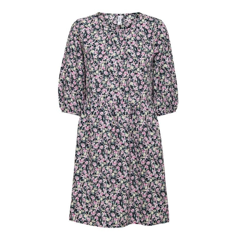 Image of Black/PINK ONLLUA DRESS 15233878 fra Only (074301-R029)