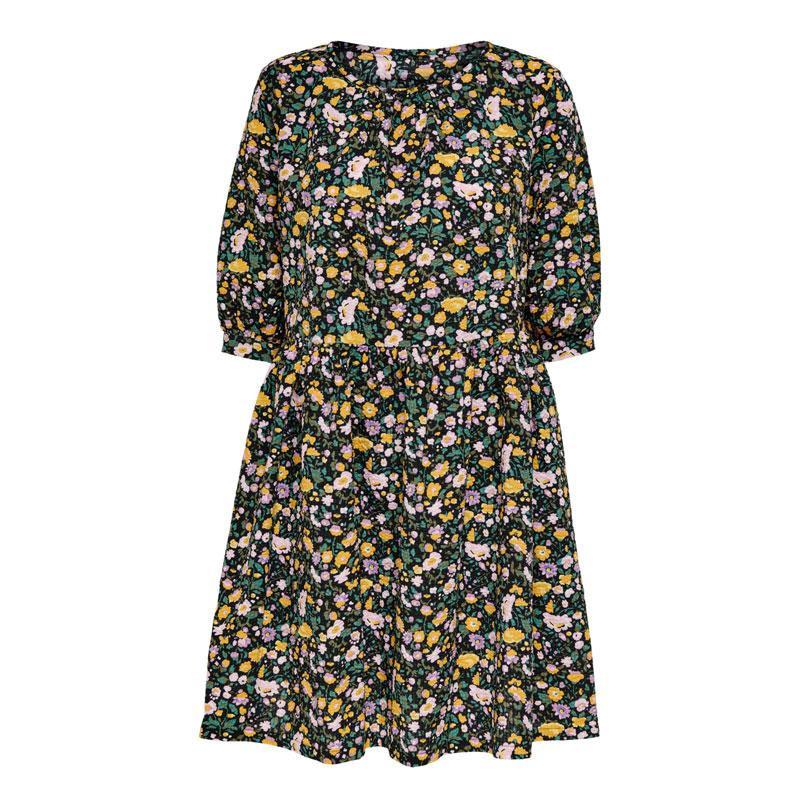 Image of Black/PURPLE ONLLUA DRESS 15233878 fra Only (074301-R030)