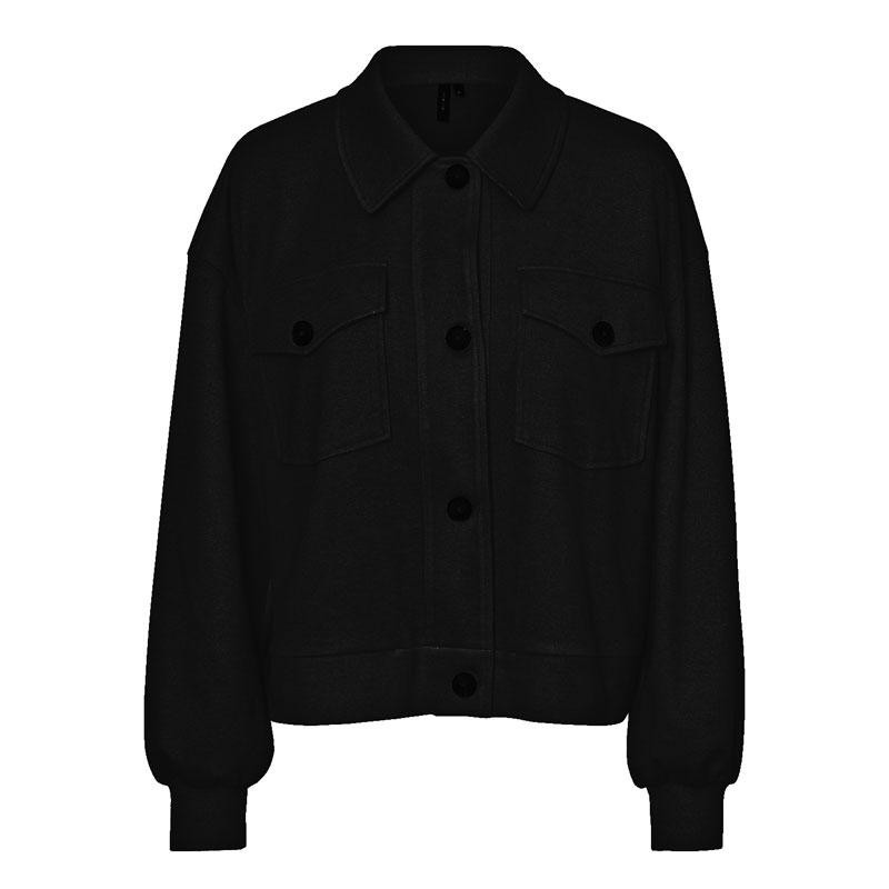 Image of Black VMASHA OVERSHIRT JACKET 10240863 fra Vero Moda (144301-R033)