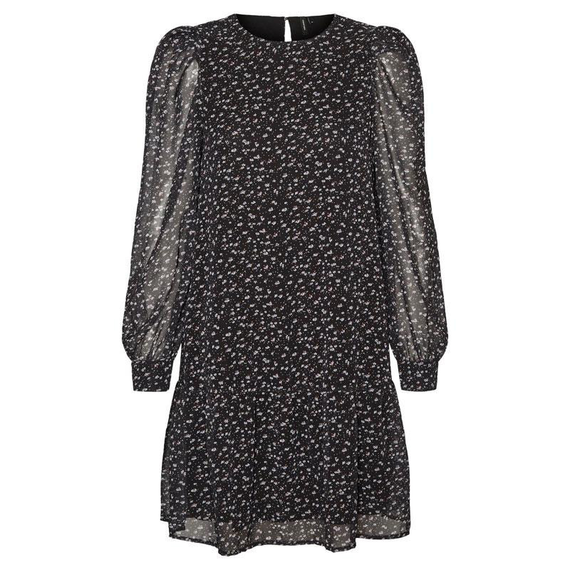 Image of Black SMALL FLOWERS VMPERLA DRESS 10246898 fra Vero Moda (144801-793)