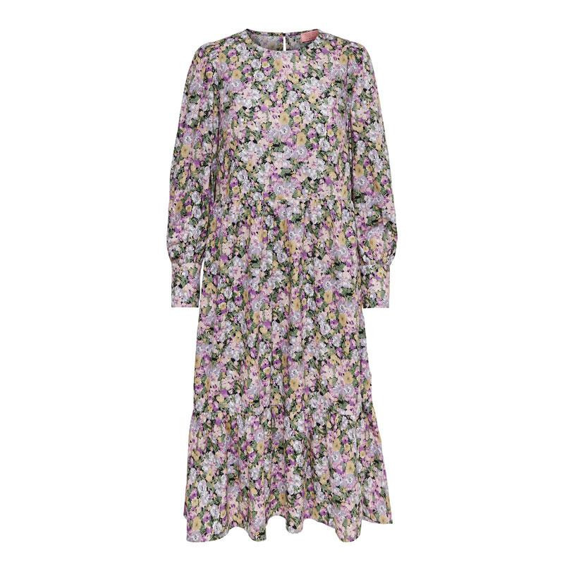 Image of Black PASTEL FLOWER ONLELLIE DRESS 15230265 fra Only (075001-S018)
