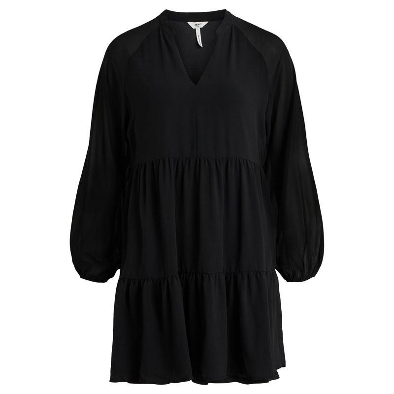 Image of Black OBJMILA GIA DRESS NOOS 23035512 fra Object (125101-822)