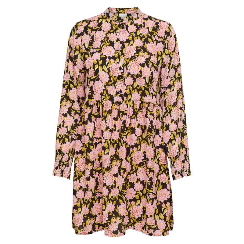 Image of Black BIG ROSE FLOWERS JDYCARMEN SHORT DRESS 15221315 fra JDY (110111-119)
