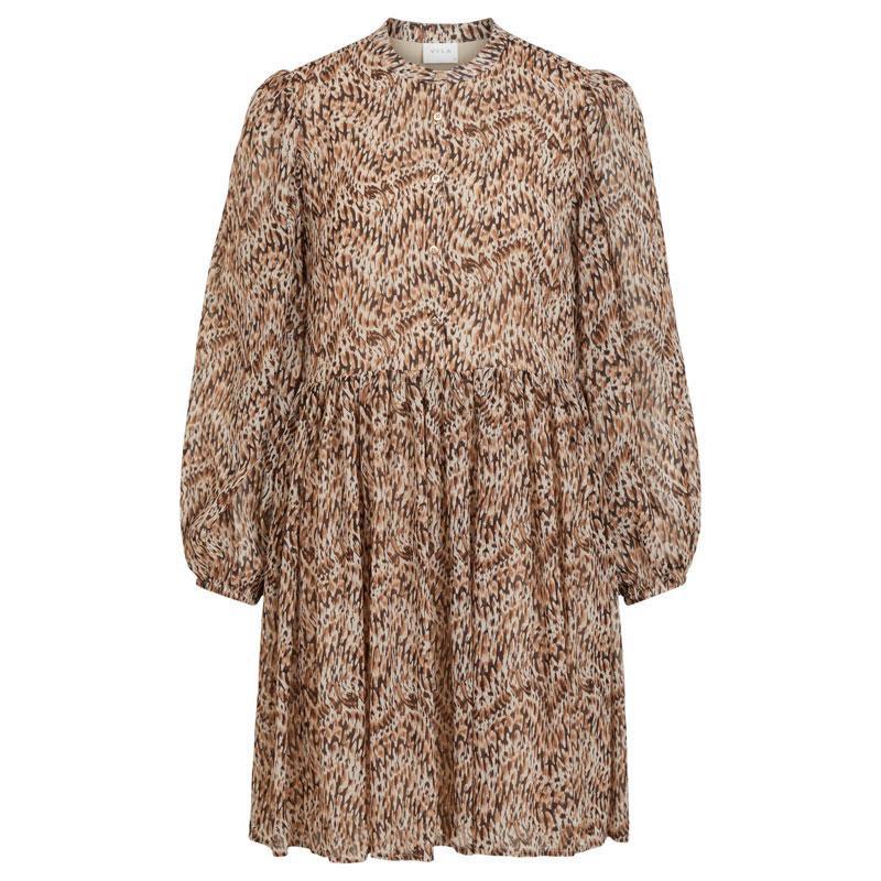 Image of Humus W. LIZA PRINT VISUNARA DRESS 14060365 fra Vila (190111-V026)
