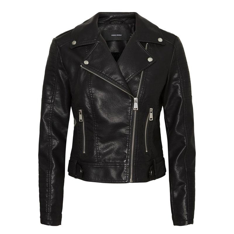 Image of Black VMKERRIULTRA SHORT COATED JACKET NOOS 10228728 fra Vero Moda (140111-X009)