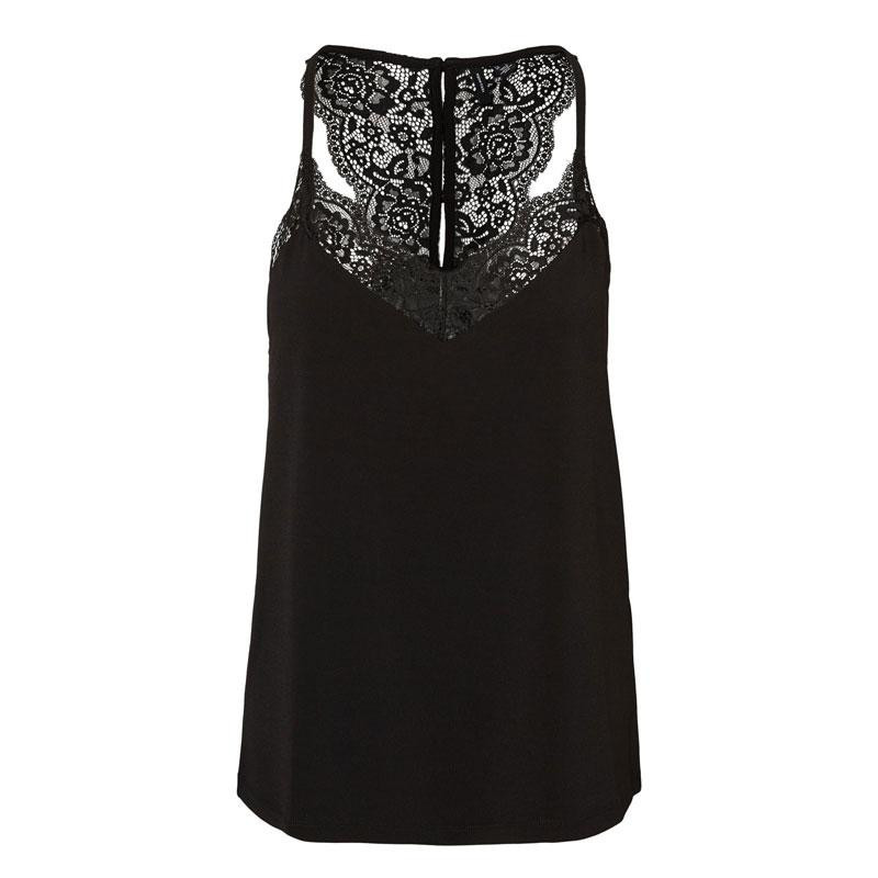 Image of Black VMANA LACE TOP NOOS 10233213 fra Vero Moda (140111-032)