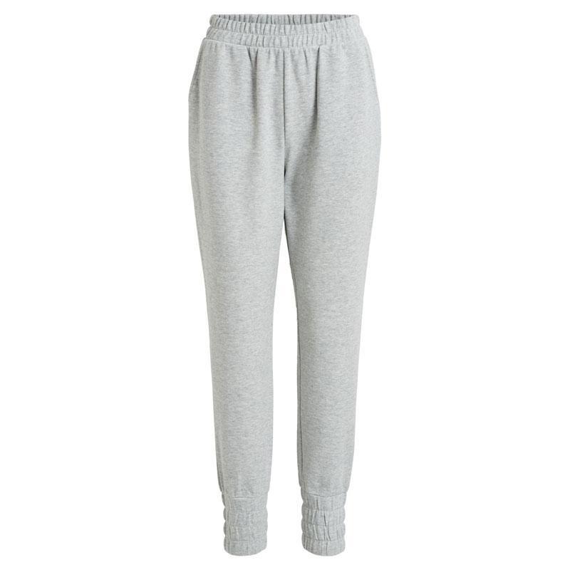 Image of Light Grey Melange OBJMEZA SWEAT PANTS 23035221 fra Obejct (120411-S017)