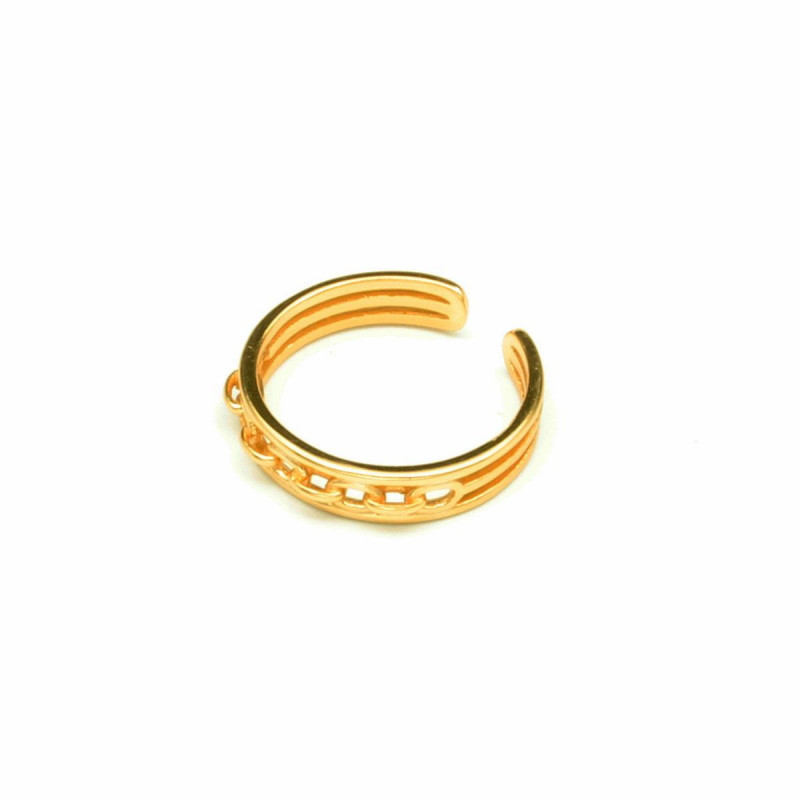 Image of Gold Madison Ring 5035 fra Eness (950511-484)