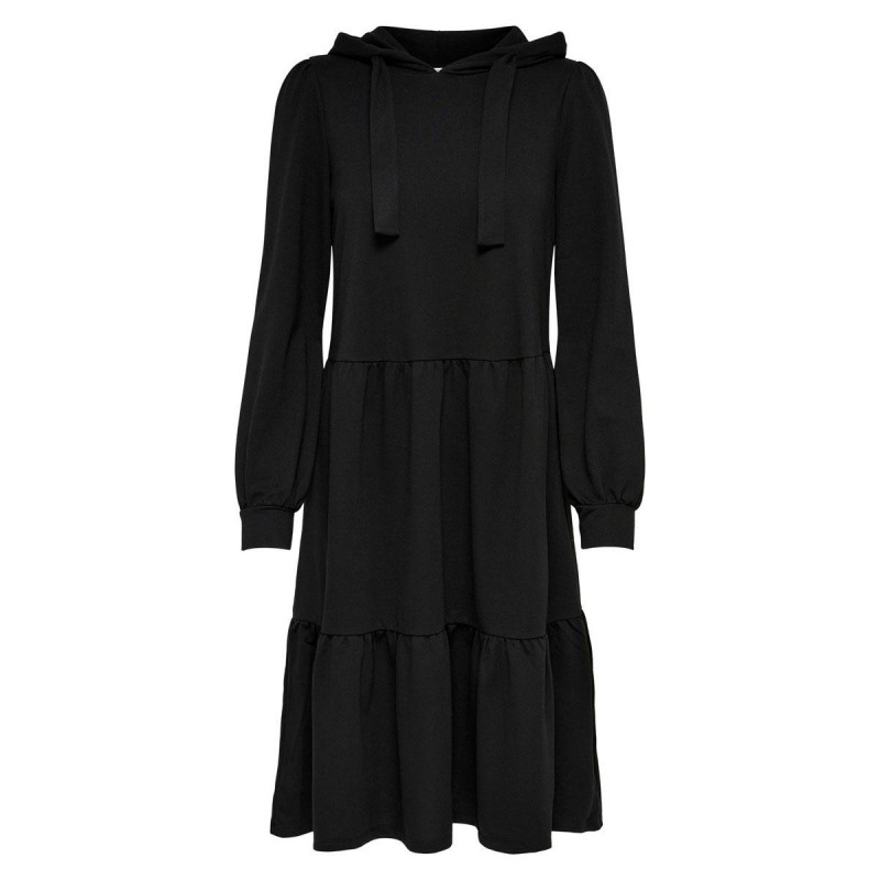 Image of Black JDYDALE HOOD SWEAT DRESS 15226752 fra JDY (110811-473)