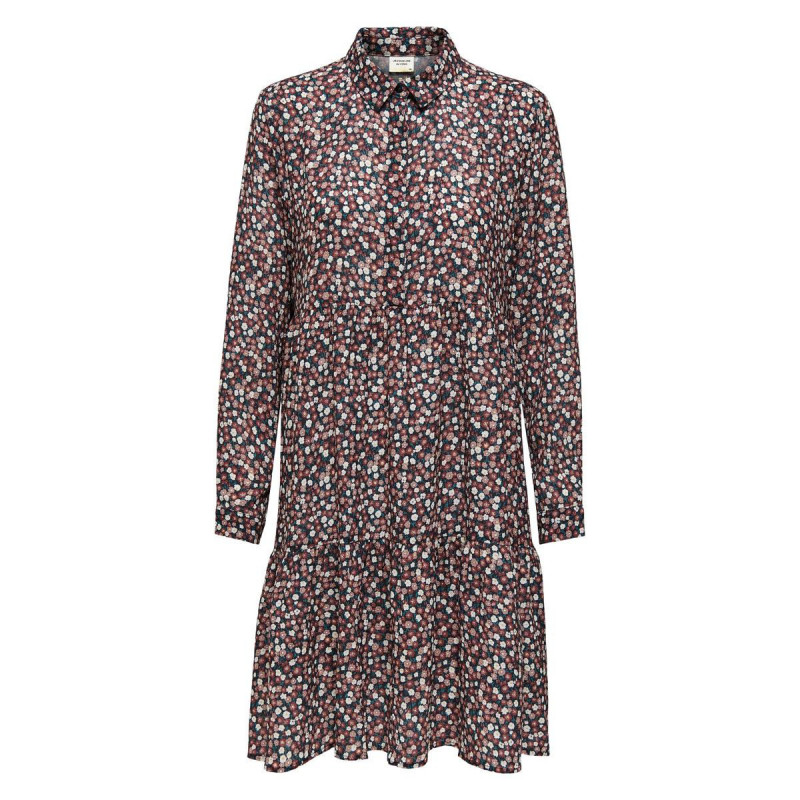 Image of Dark Navy ROSA DITSY JDYPIPER SHIRT DRESS NOOS 15221987 fra JDY (110811-P018)