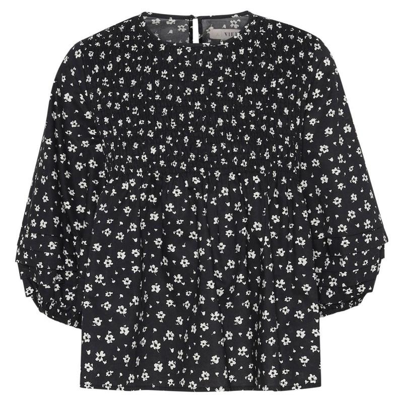Image of Black print Ocean blouse AV1730 fra A-View (020911-774)