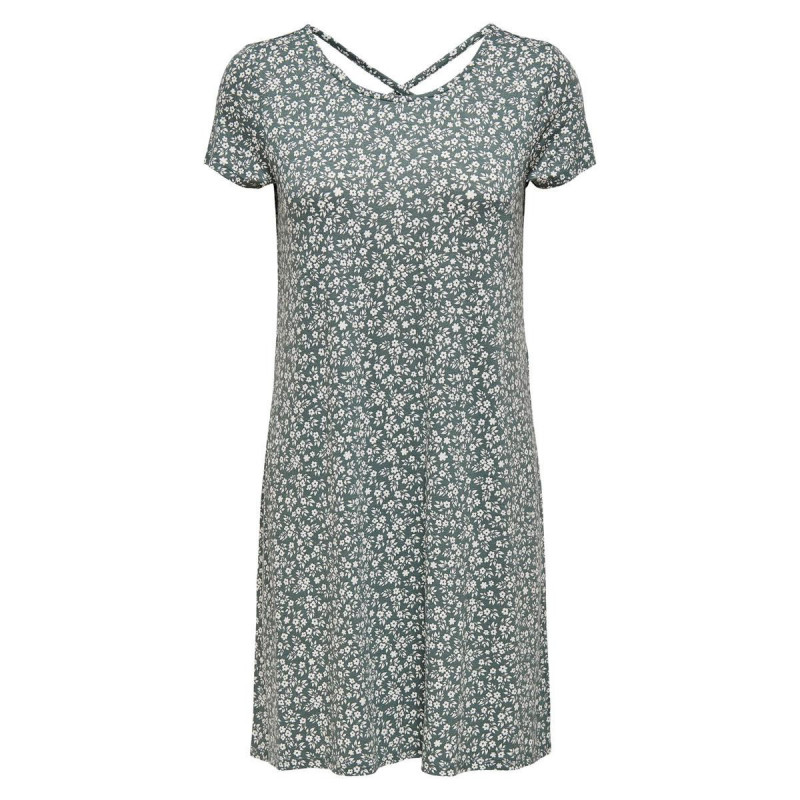 Image of Balsam Green WHITE FLOWERS ONLBERA BACK LACE DRESS NOOS 15131237 fra Only (070911-587)