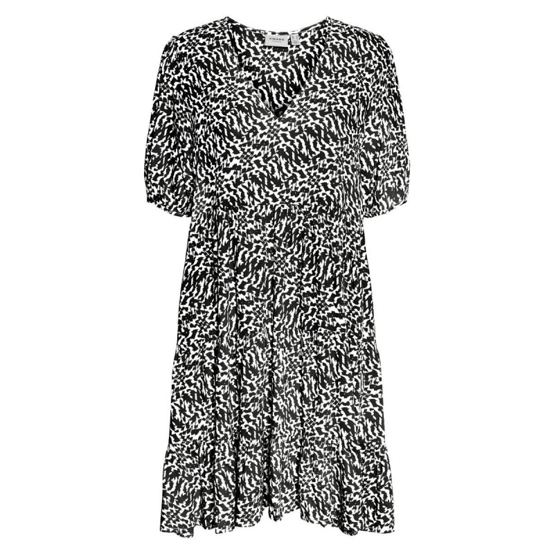 Image of Black OHANNA BIRCH VMOHANNA V-NECK SHORT DRESS 10245942 fra Vero Moda (140911-700)