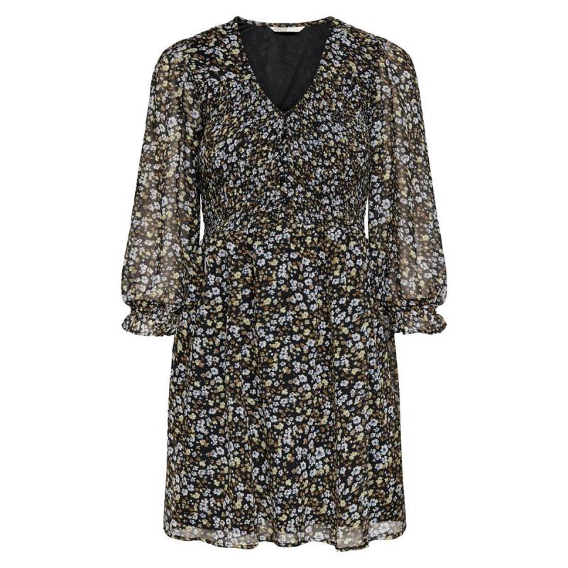 Image of Black ONLVIVIAN SMOCK DRESS 15229817 fra Only (071111-169)