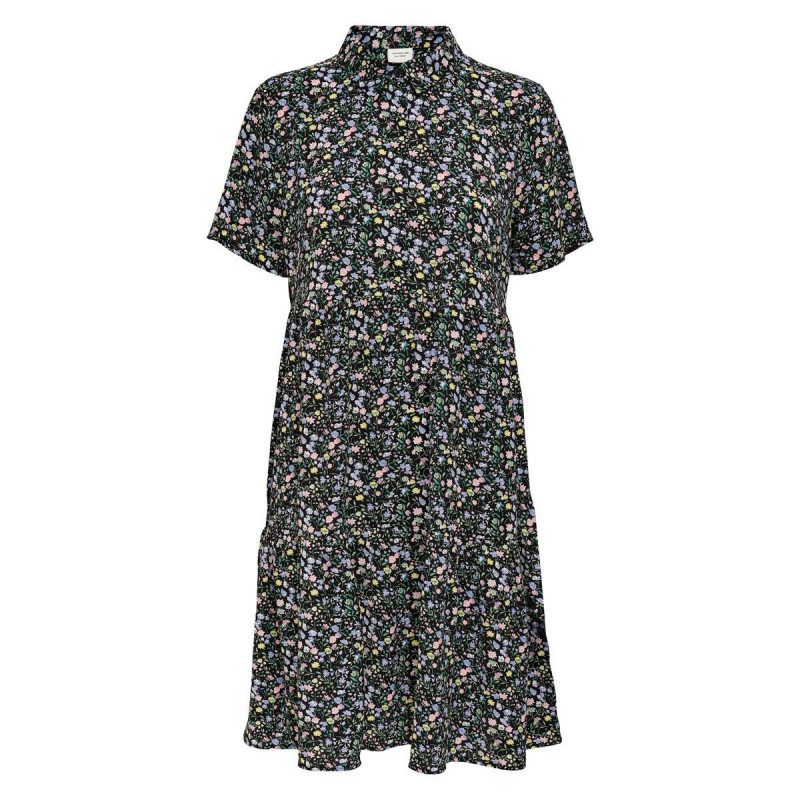Image of Black POP-COLOR FLOWERS JDYPIPER DRESS 15240515 fra JDY (111311-070)
