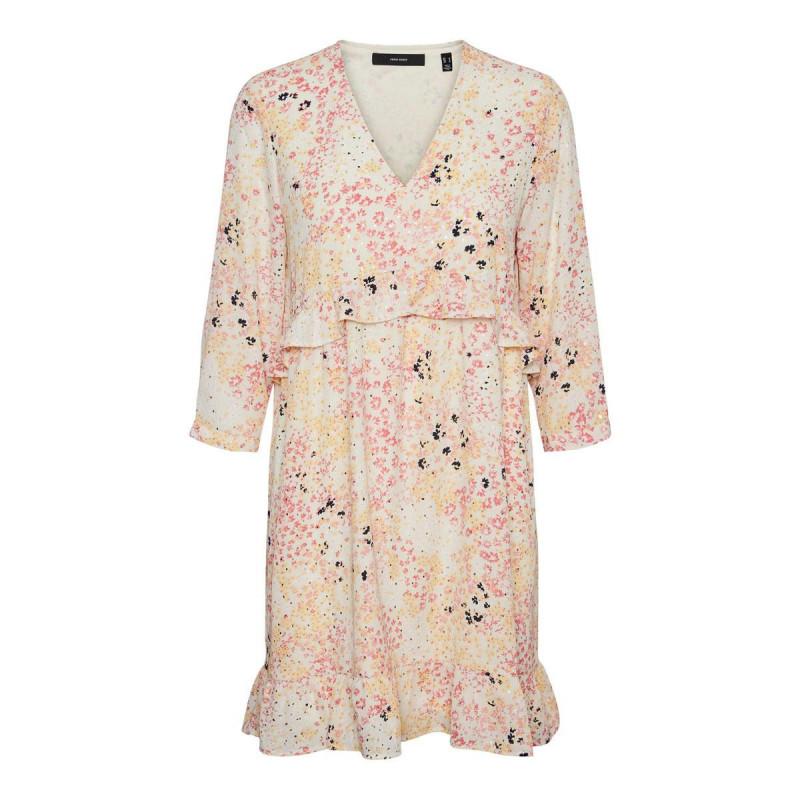 Image of Birch HANNAH VMHANNAH FOIL SHORT DRESS 10245027 fra Vero Moda (141411-Q017)