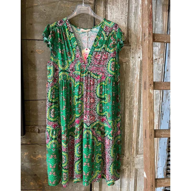 Image of Green Eliana Dress fra Cabana Living (102811-504)