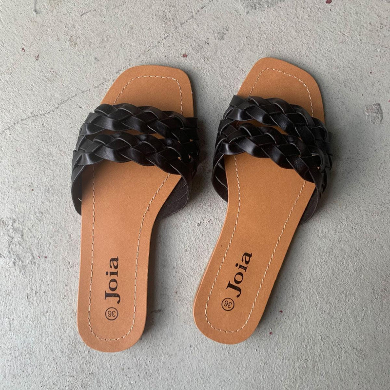 Image of Black Freja sandal LS98 (323011-T001)