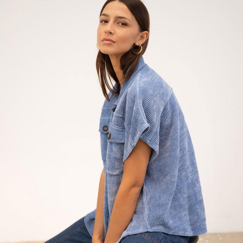 Image of Bleu Clair Shirt IT002 (333711-Y009)